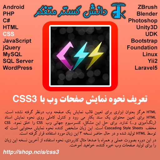 تعریف نحوه نمایش صفحات وب با CSS3